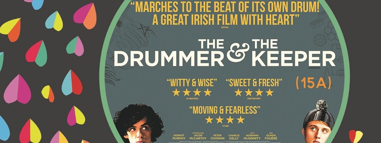 First Fortnight in partnership with IFI National presents The Drummer & The Keeper Thursday 11 January @ 7.00 pm