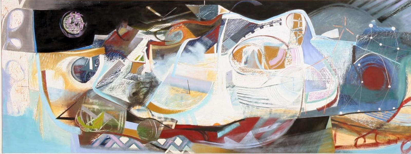 Matthew Lanyon, Journey to the Stars, detail